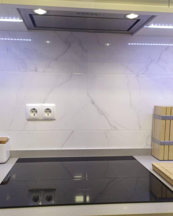 Home 'N Joy Remodelações Unit dapur White