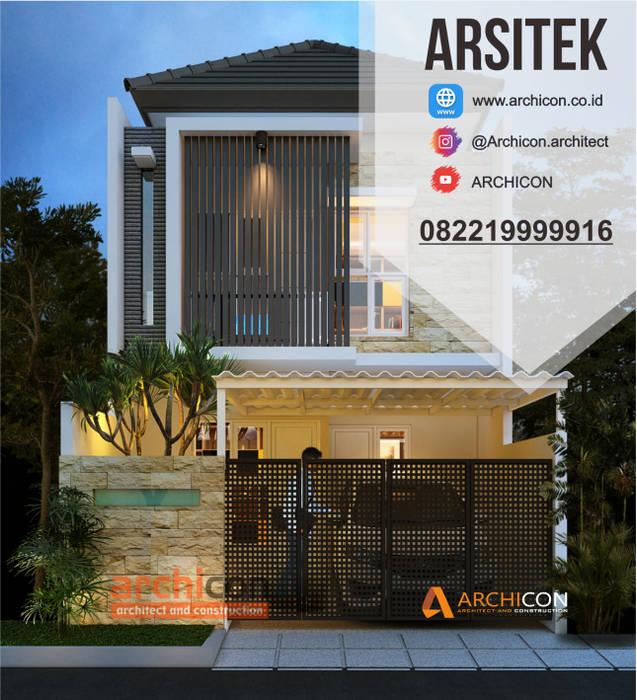 Jasa Arsitek Bandung| Jasa Desain Rumah Bandung | Jasa Desain Interior Bandung | Kota Bandung | Jasa kontraktor Bandung Jasa Arsitek Archicon Dinding & Lantai Minimalis Chipboard Orange