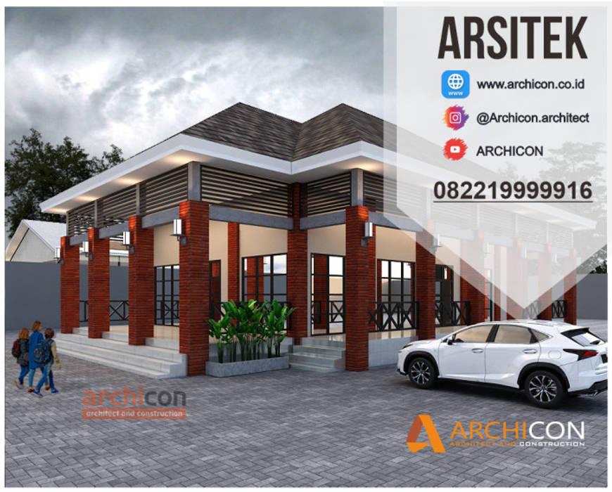 Jasa Arsitek Bandung| Jasa Desain Rumah Bandung | Jasa Desain Interior Bandung | Kota Bandung | Jasa kontraktor Bandung Jasa Arsitek Archicon Dinding & Lantai Minimalis Batu Tulis Red