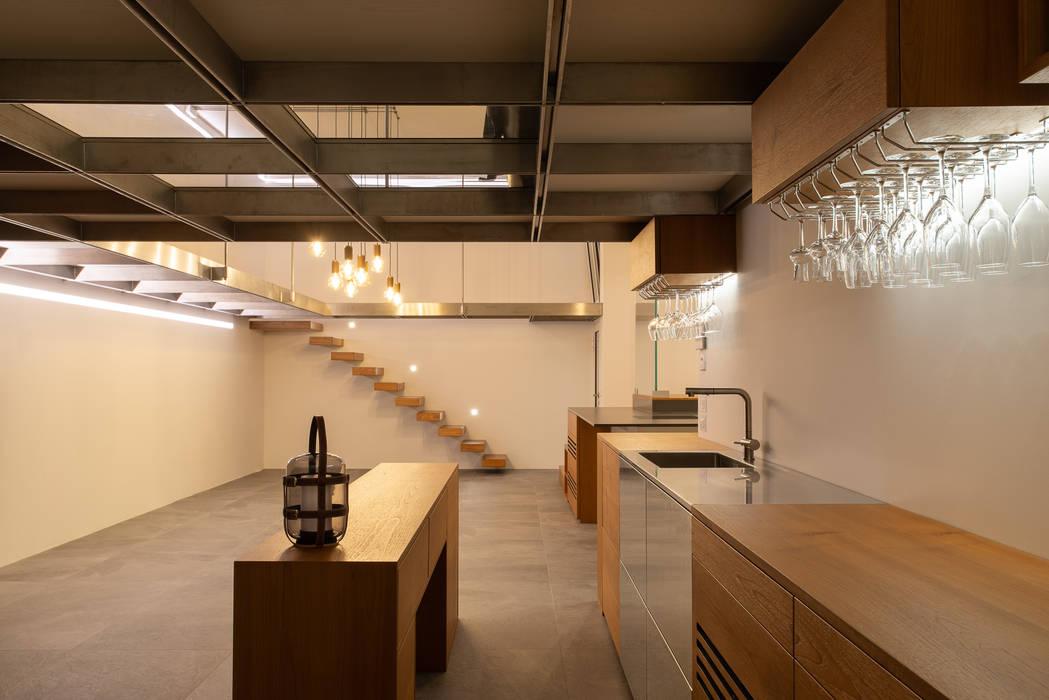 Fotografia di interni - cantina Inlet Studio Cantina moderna