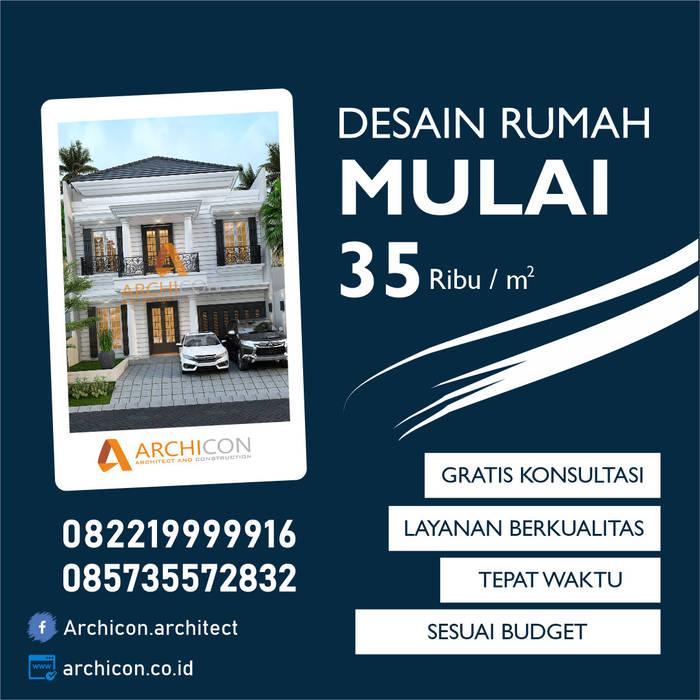 Jasa Arsitek Bandung | Jasa Desain Rumah Bandung | Jasa Desain Interior Bandung | Kota Bandung | Jasa kontraktor Bandung Archicon Architect Pintu & Jendela Gaya Mediteran Batu Tulis Green