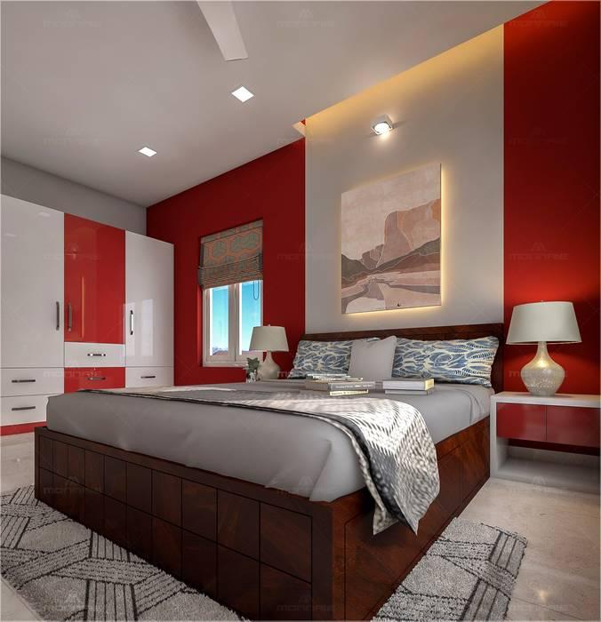 Bedroom Designs Premdas Krishna BedroomAccessories & decoration Wood Wood effect