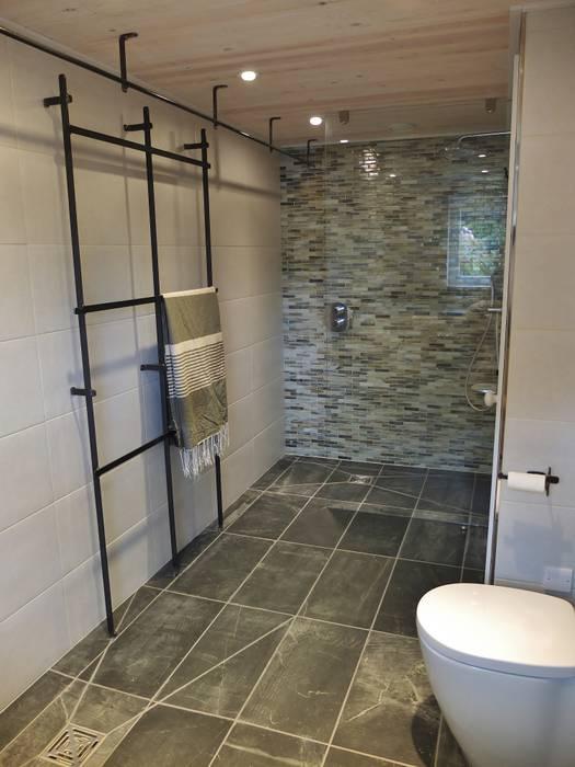 Eco-friendly Bathroom Arco2 Architecture Ltd Kamar Mandi Minimalis