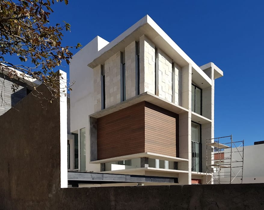 Arqcubo Arquitectos Rumah Modern Kayu White