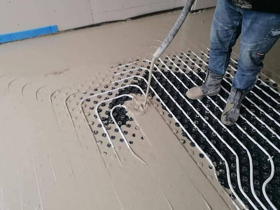 David Mateos García Floors Plastic White