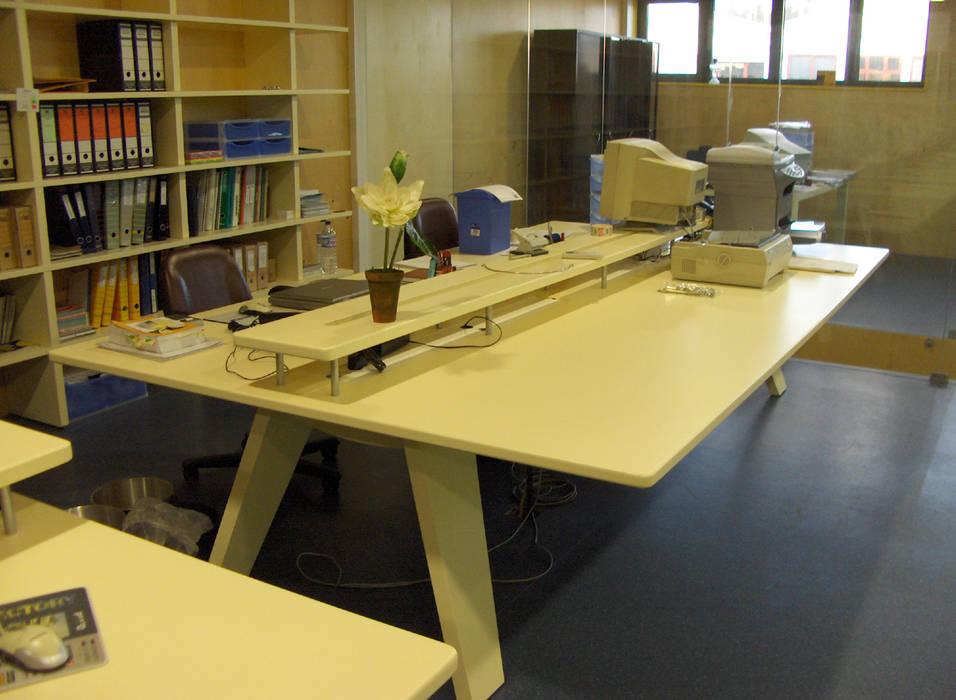 Renato Fernandes - arquitetura Рабочий кабинет Письменные столы