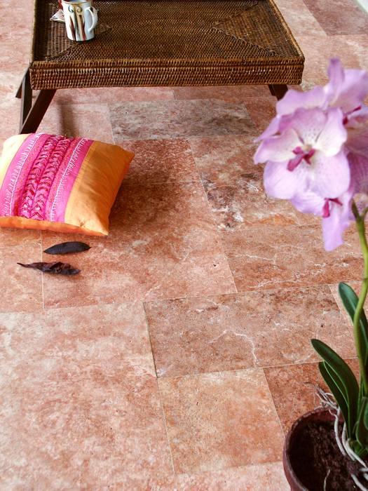 Floor Laying Efesus Stone Zeminler Kırmızı