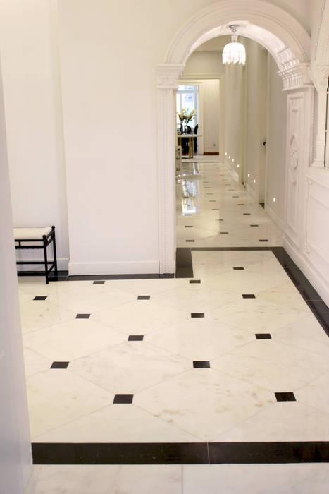 Floor Laying Efesus Stone Zeminler Mermer Beyaz