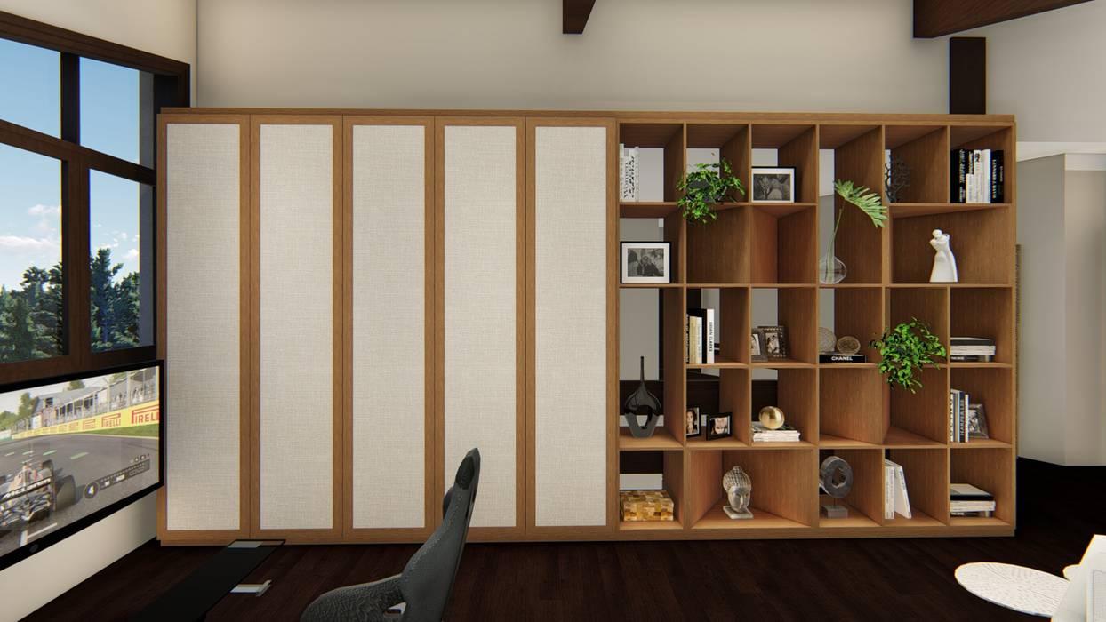 Studio Ideação Koridor & Tangga Gaya Eklektik