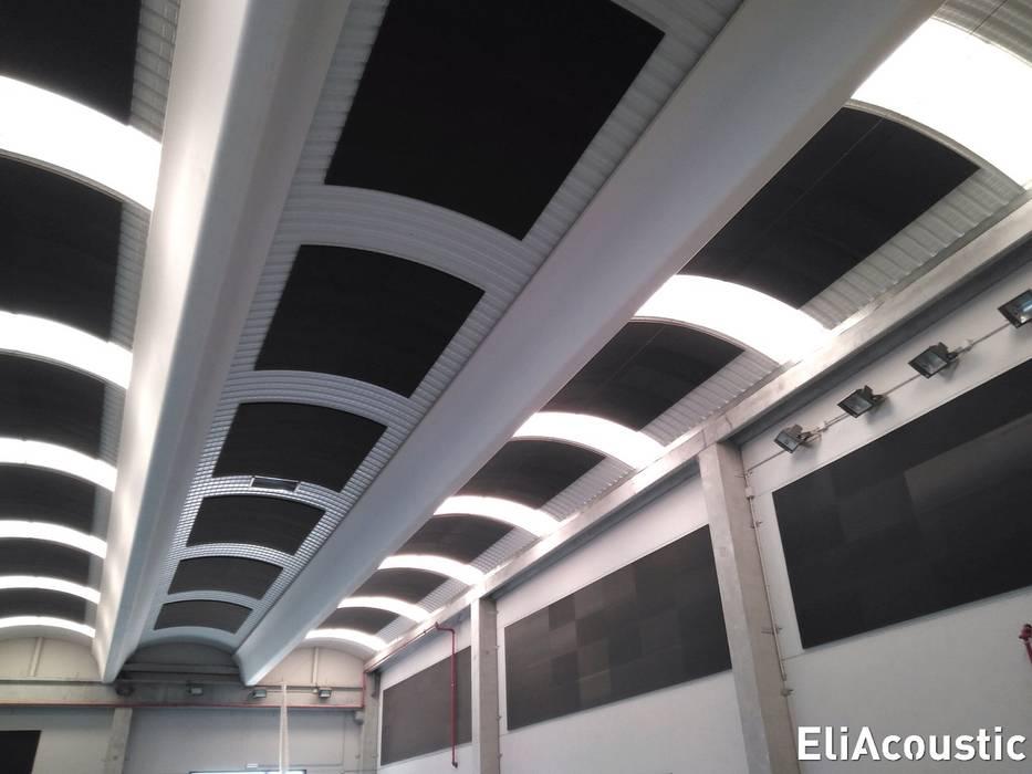 Acustica Decorativa Dinding & Lantai Gaya Industrial