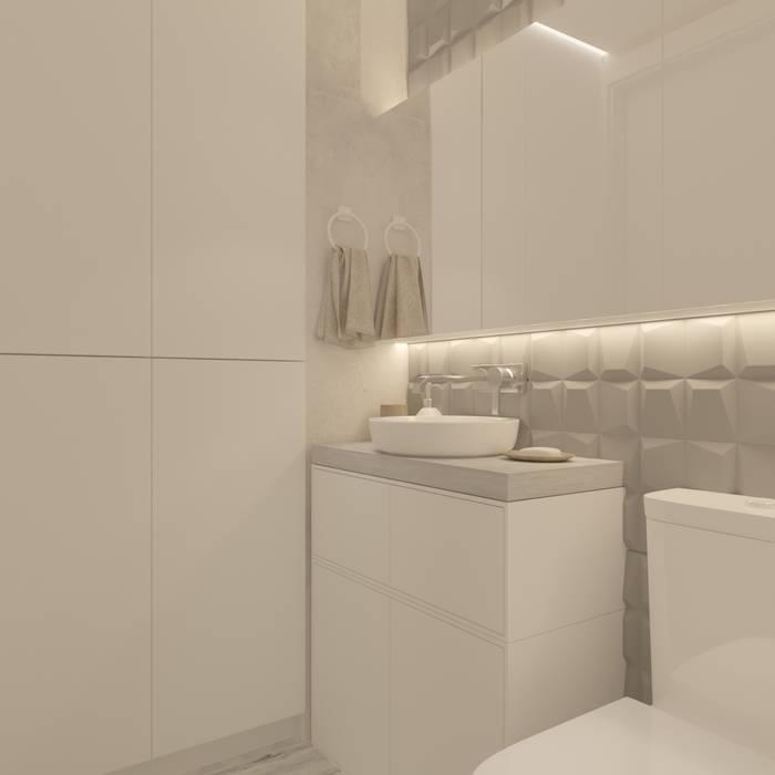 Proyecto TDC Diaf design Baños de estilo minimalista
