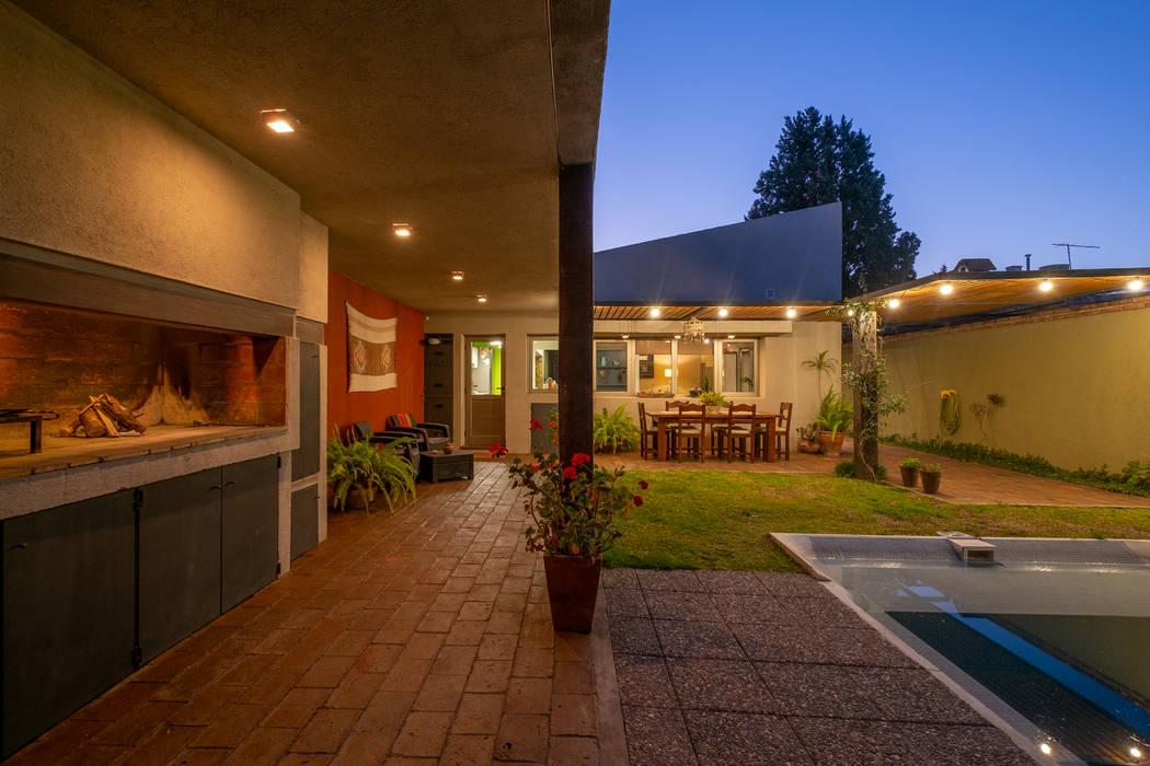 Casa Franchini 400_Alta Gracia 1.61arquitectos Jardines en la fachada