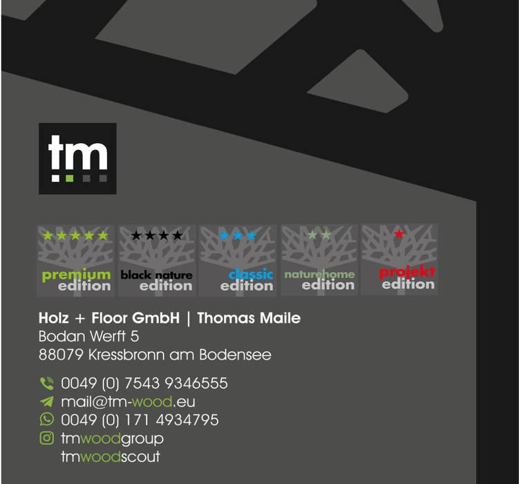 Leonardo Dielen im goldenen Schnitt von 1 : 10 für anspruchsvolle Designer und Architekten. Holz + Floor GmbH | Thomas Maile | Living with nature since 1997 Boden Holz Schwarz