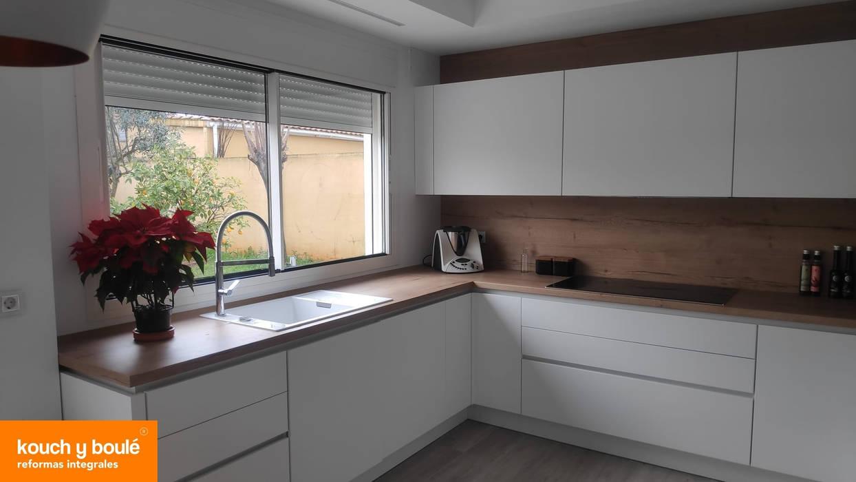 Mobiliario de Cocina Kouch Kouch & Boulé Cocinas de estilo escandinavo