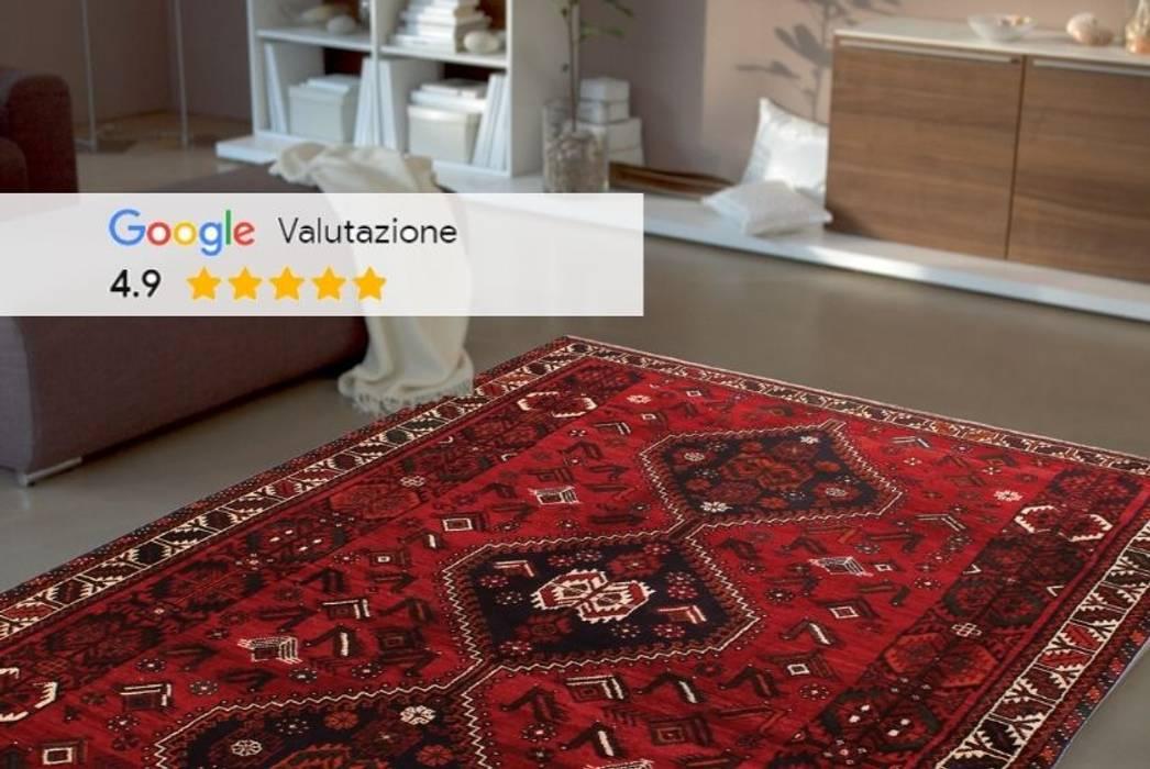 Persian House Salones de estilo clásico Rojo