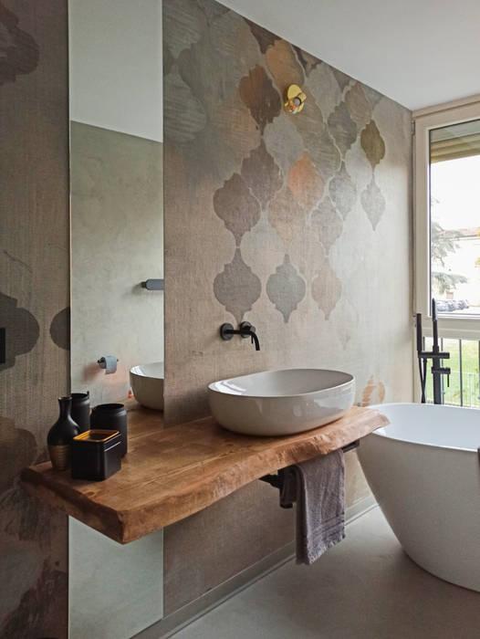 Il bagno come stanza del benessere viemme61 BagnoLavabi Grigio