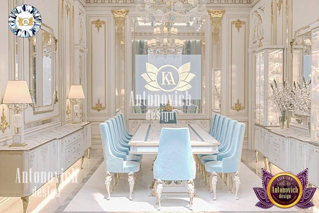 LUXURY ANTONOVICH DESIGN – BESPOKE INTERIOR DESIGN TEAM FOR ELEGANT DINING ROOMS Luxury Antonovich Design Classic style dining room