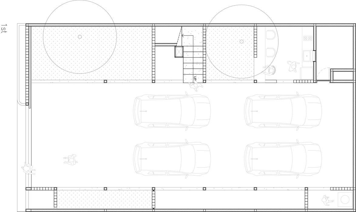 Sunter SoHo ASAT.Studio Garasi Modern