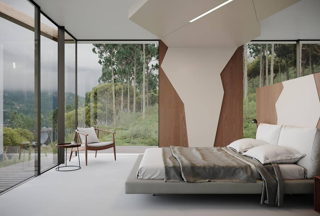 MJARC - Arquitetos Associados, lda Kamar Tidur Minimalis