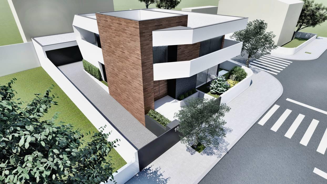 Esboçosigma, Lda Дома в стиле модерн