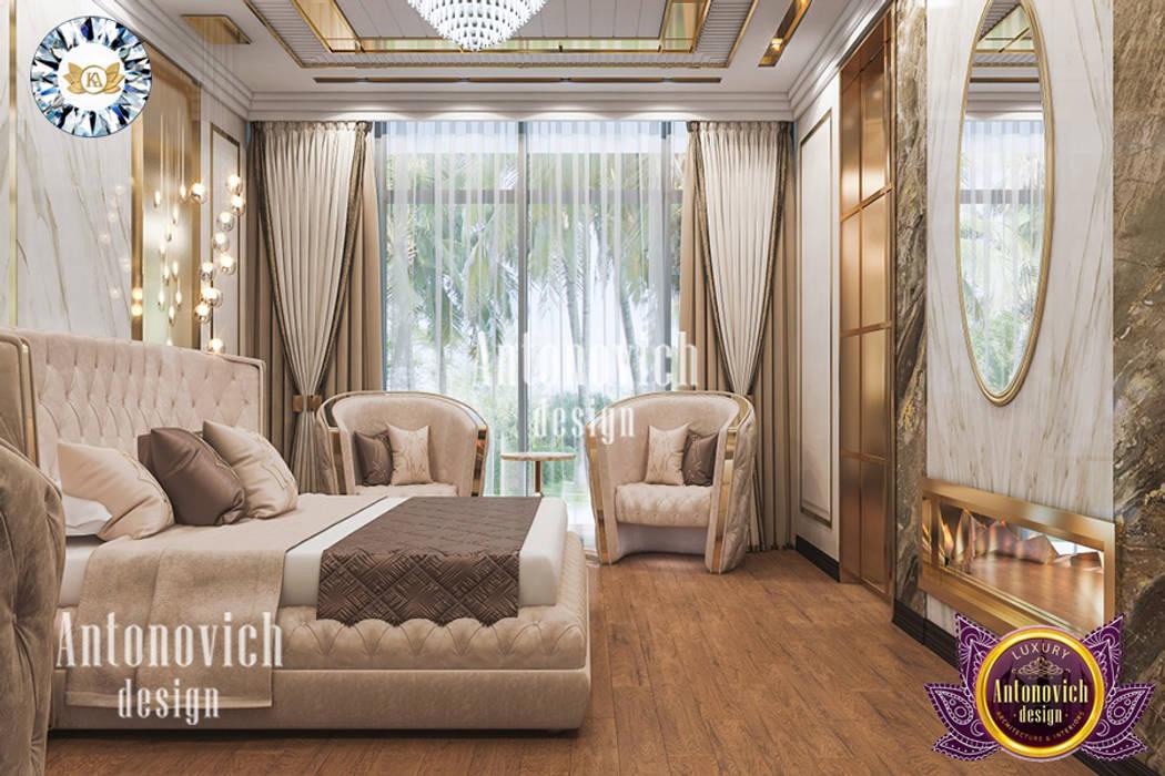 IDEAL BEDROOM INTERIOR DESIGN BY LUXURY ANTONOVICH DESIGN Luxury Antonovich Design Modern style bedroom