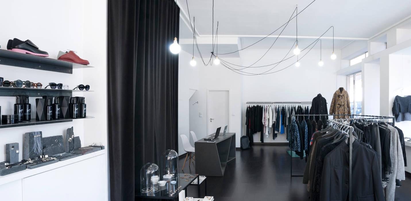 scar-id store SCAR-ID atelier Espaços comerciais minimalistas