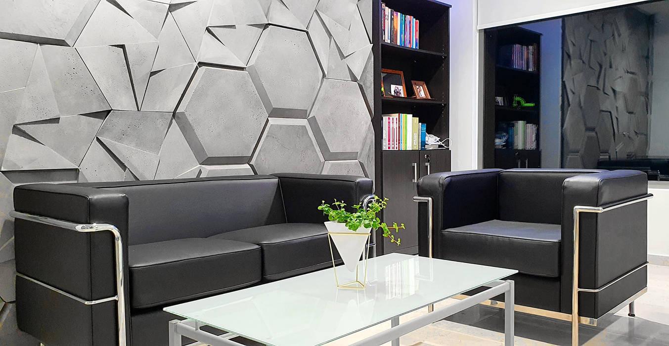 ZICARO - producent paneli 3D i paneli ażurowych Walls & flooringWall tattoos Grey