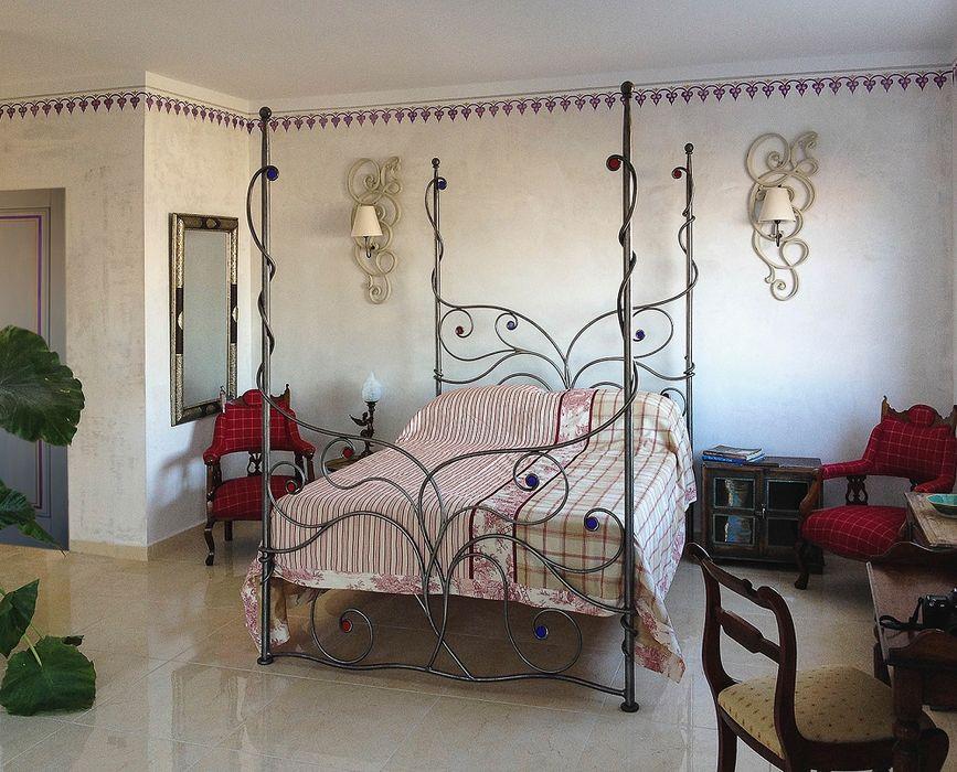 """Hotel """" Las Orquideas"""" Andalusien Wandmalerei & Oberflächenveredelungen Ausgefallene Hotels"""