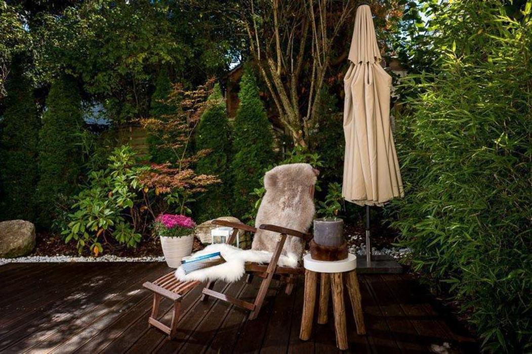 Münchner home staging Agentur GESCHKA Classic style balcony, veranda & terrace