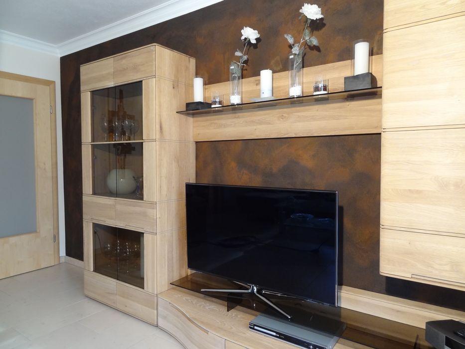 Wohnraum in FFB Wände mit Charakter Moderne Wohnzimmer