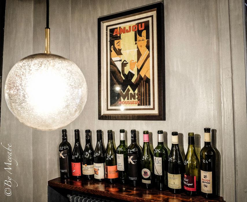 Affiche vintage Sandra Dages Gastronomie industrielle