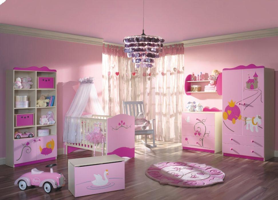 Babyzimmer Prinzessin Möbelgeschäft MEBLIK Klassische Kinderzimmer