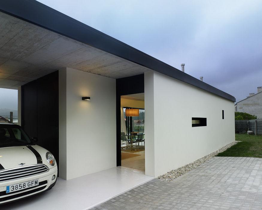 Vivienda en Villagarcía Nan Arquitectos Casas de estilo minimalista