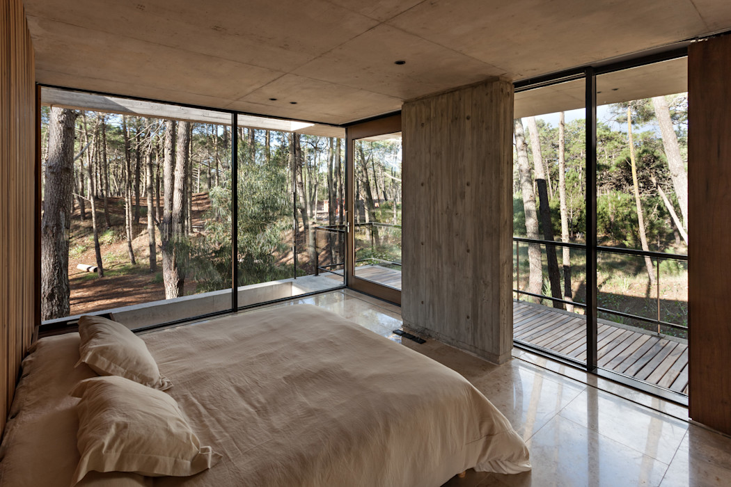 Casa Marino ATV Arquitectos Dormitorios modernos: Ideas, imágenes y decoración