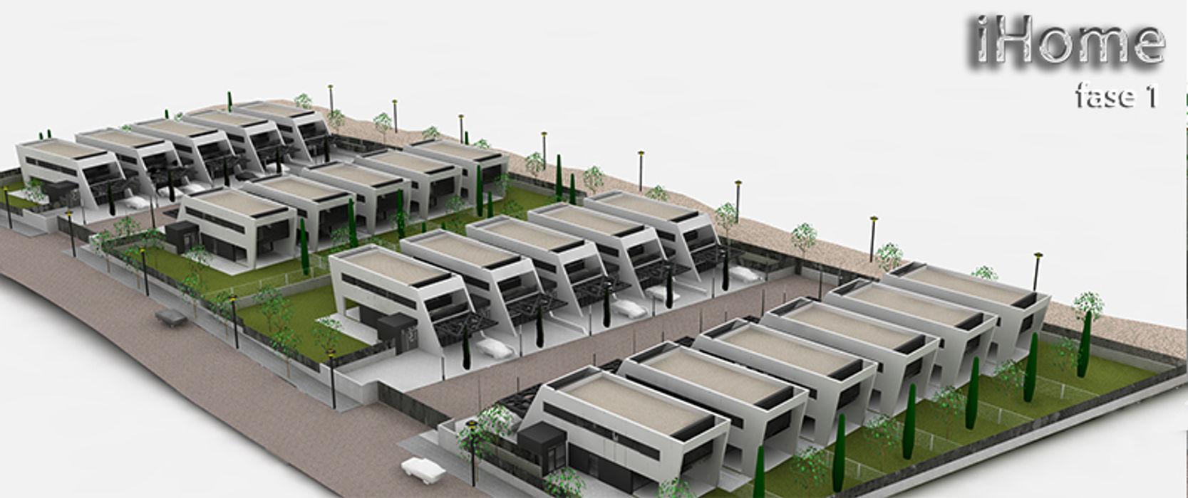 iHome Carrillo arquitectos   Forma y Espacio Casas de estilo moderno