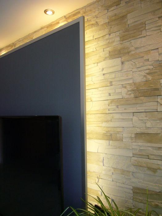 Wohnberatung - Einfamilienhaus in Lünen raum² - wir machen wohnen Moderner Multimedia-Raum