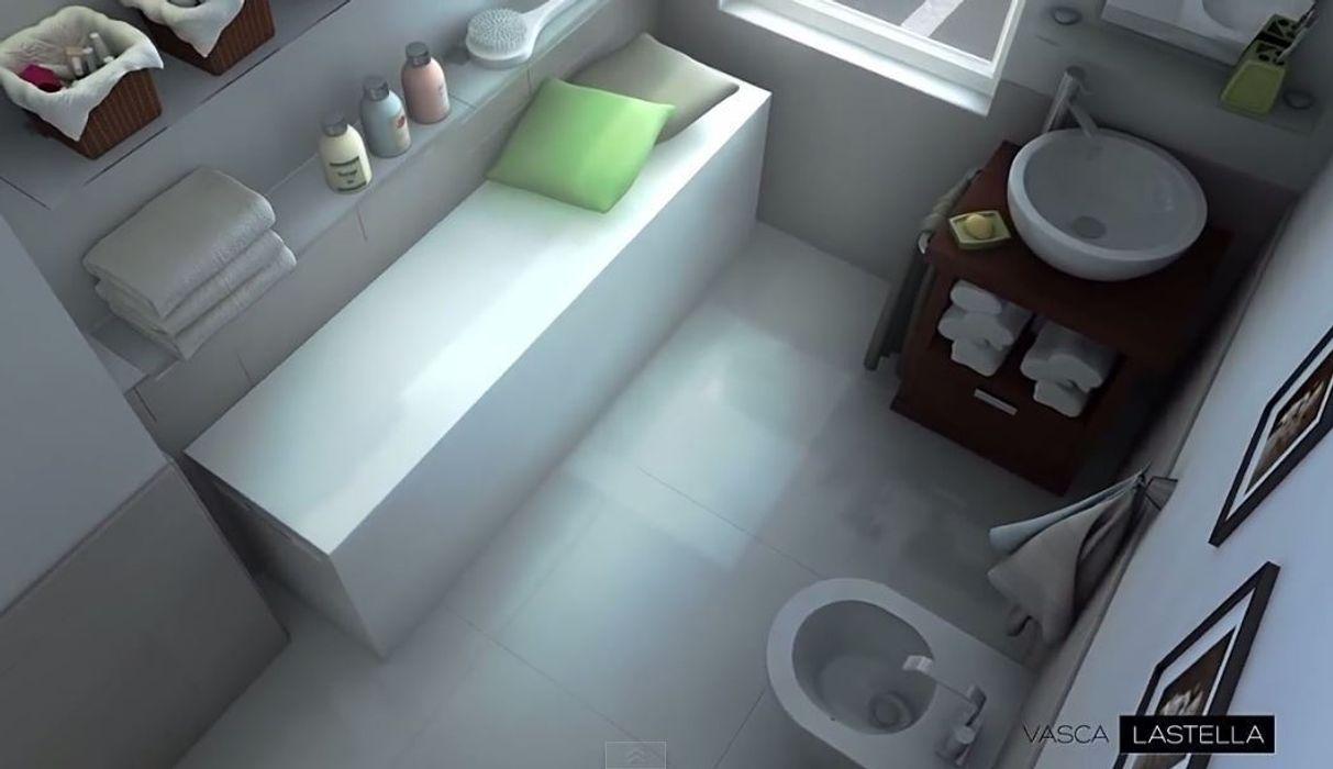 Vasca da bagno reversibilmente estendibile M+design BagnoVasche & Docce