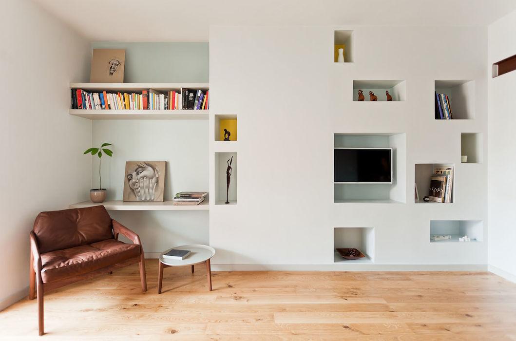 Salón ACABADOMATE Dormitorios de estilo moderno