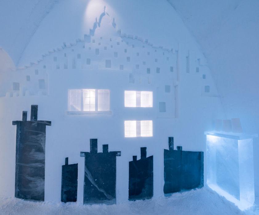 Icehotel, Jukkäsjarvi (Suède) ateliers kumQuat