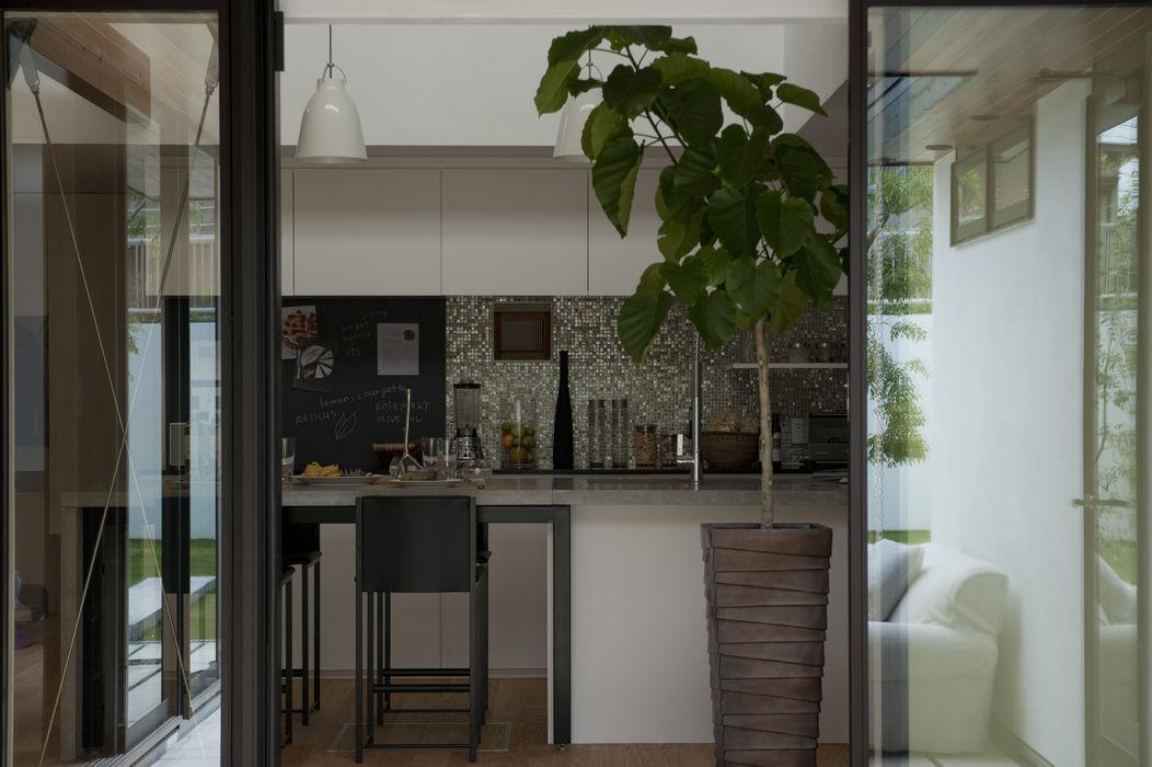 House with the bath of bird Sakurayama-Architect-Design モダンな キッチン