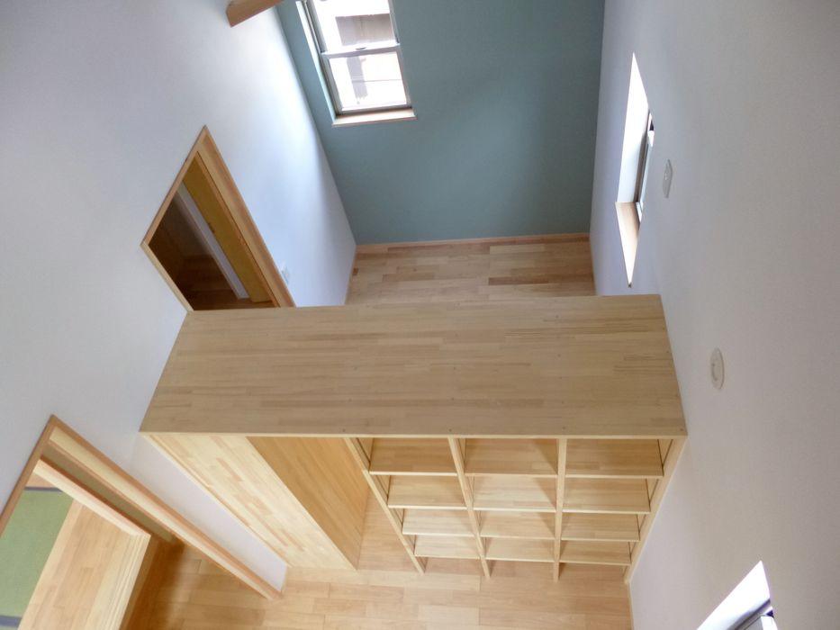 市川市K邸 K+Yアトリエ一級建築士事務所 北欧デザインの 子供部屋