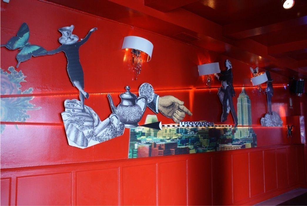 Trovador Pub moreandmore design Gastronomía de estilo moderno