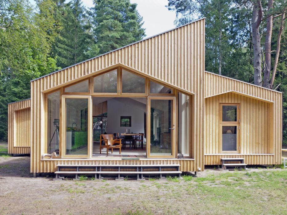 Timber Clad Exterior Facit Homes Rumah kayu