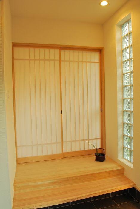 高城の家 西川真悟建築設計 モダンな 窓&ドア