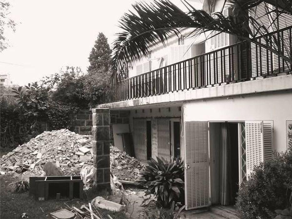 Fachada Principal antes da alteração Nuno Ladeiro, Arquitetura e Design