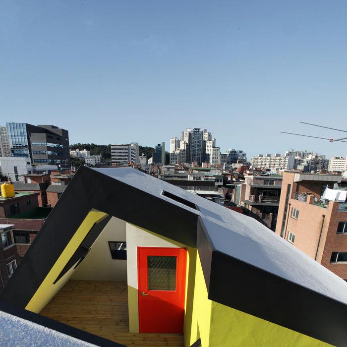 designband YOAP Balcon, Veranda & Terrasse scandinaves