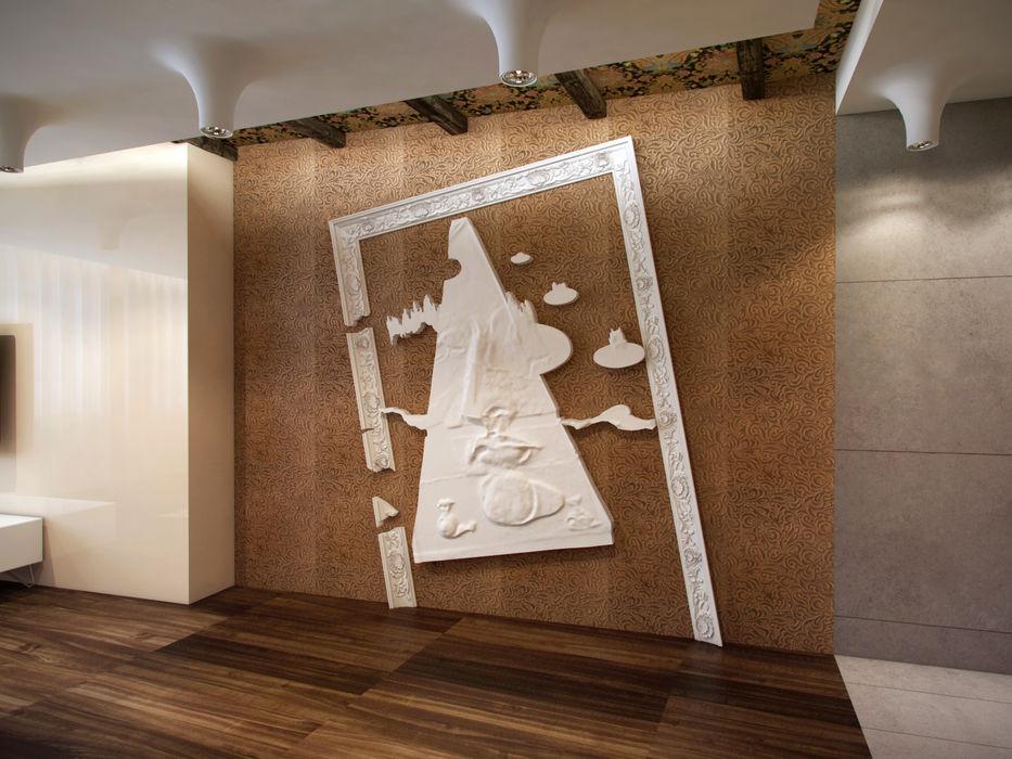 На черноморском берегу Хандсвел Гостиная в стиле минимализм