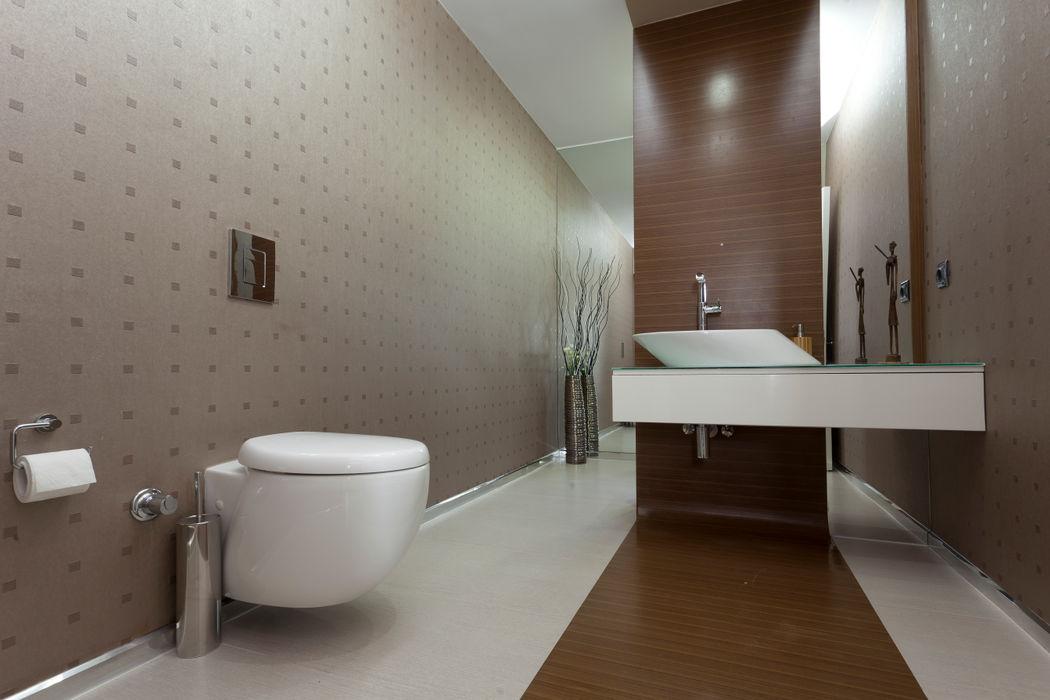 E. BUYUKKOKDERE SAHILEVLERI EV Mimkare İçmimarlık Ltd. Şti. Modern Banyo