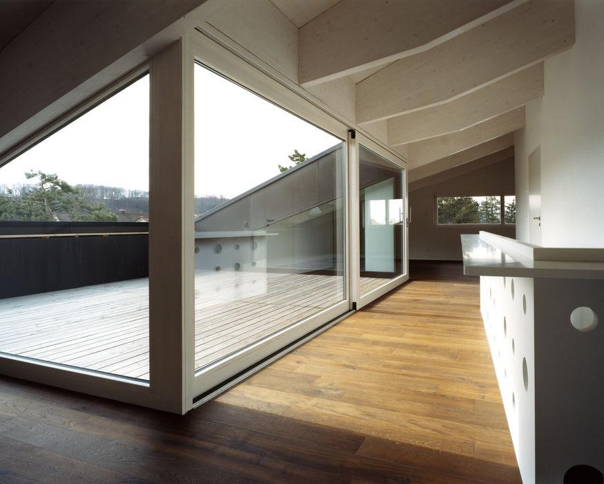weberbuess Architekten SIA Вітальня