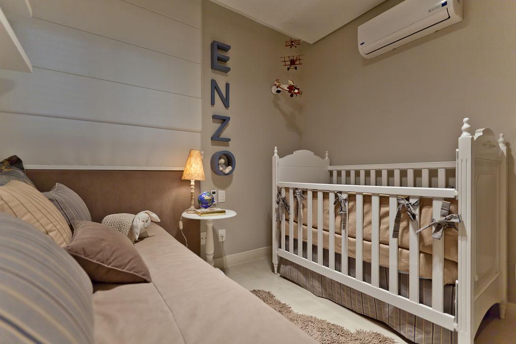901 IE Arquitetura + Interiores Quarto infantil moderno